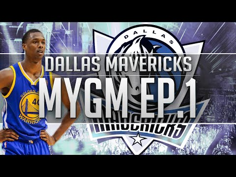 NBA 2K17 MyGM Ep.1 -  Dallas Mavericks | HUGE Trades | New Look Mavs!