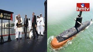 PM Modi Dedicates INS Kalvari to the Nation  - hmtv - netivaarthalu.com