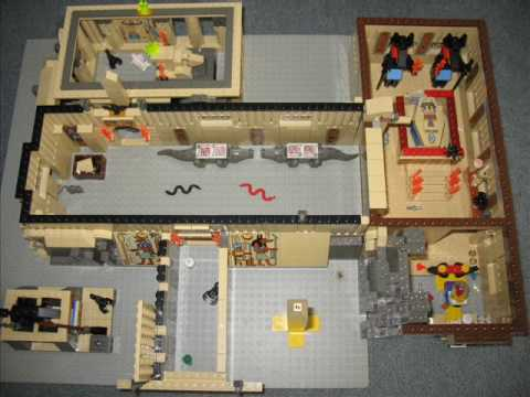 LEGO KING TUTS TOMB in LEGOS
