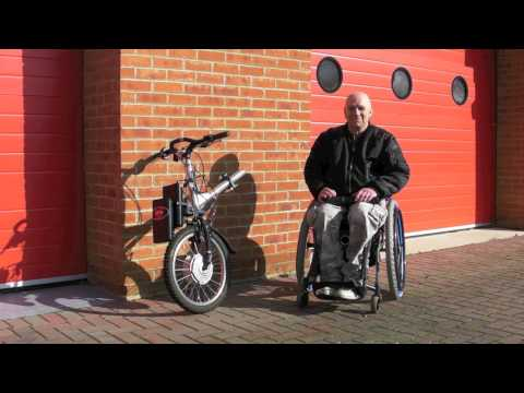TEAM HYBRID HANDCYCLES Viper Power Cycle Introduction + Docking Procedure
