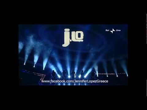 Jennifer Lopez - Medley (Live @ Sanremo Festival, Italy 2010)