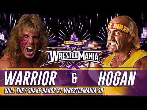 Wrestlemania 30 Ultimate Warrior & Hulk Hogan to shake hands?
