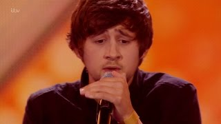 The X Factor UK 2015 S12E11 6 Chair Challenge - Guys - Ben Clark Full Clip