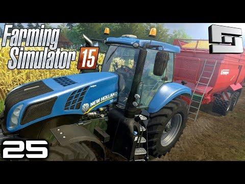 Farming Simulator 2015 : FUEL TANK MODS! ( Gameplay ) E25