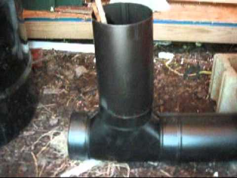 Rocket Stove Hot Water Boiler Pt 1 Youtube