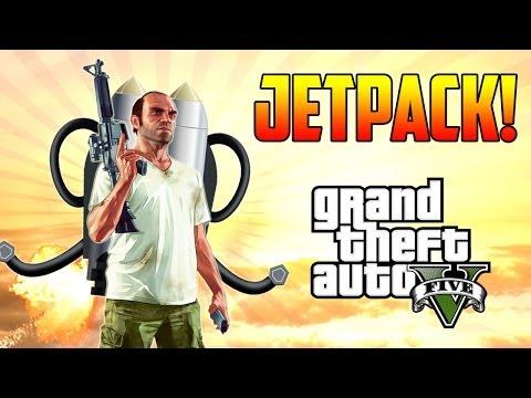 GTA V - Personaje Oculto Que Habla del JETPACK! (Teoría)