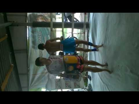 Sor. Klinmee Training With Kru Porrn video