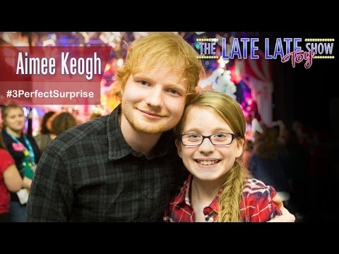 Late Late Toy Show: When Aimee met Ed Sheeran
