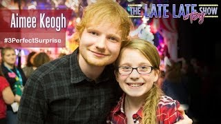 Aimee Meets Ed Sheeran! | The Late Late Toy Show 2014 | RTÉ One