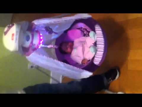 Shyla In Her Cradle Swing video
