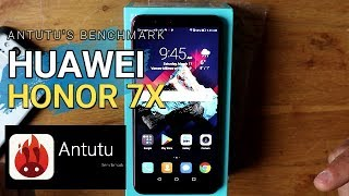 Huawei Honor 7x RED EDITION Antutu Benchmark TEST |SIEPONLINE|