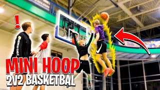 I Got Dunked On... Mini Hoop 2v2 Basketball!