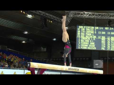 European Championships Brussels 2012, Catalina PONOR (ROU) Balance Beam