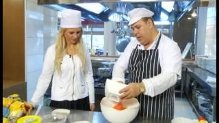 Receta e Dites - Kek me Karrota, vanilje e recel portokalli - Ditë e Re 21.01.15- Ora News