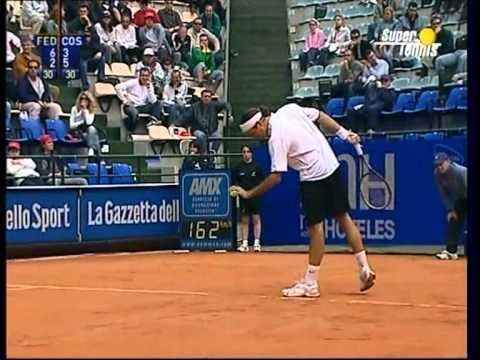 Federer – Costa 1-2  2°t  ROM2004  Best Roger's moments