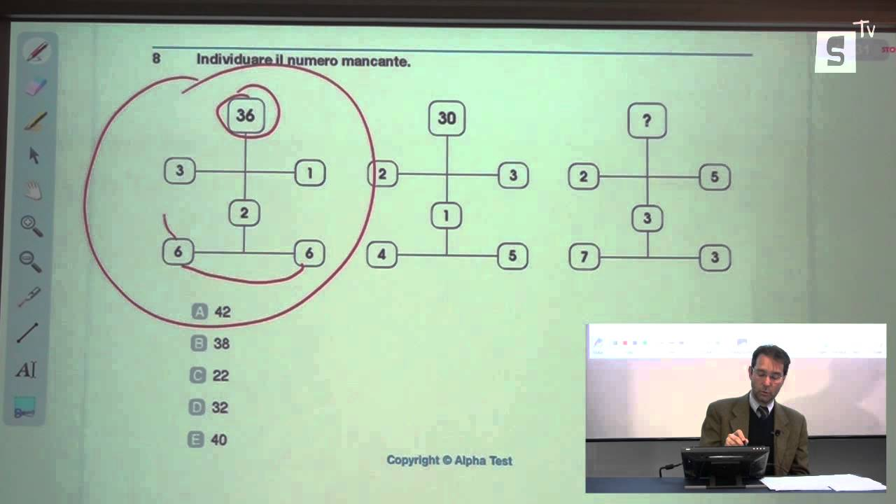 Test ingresso bocconi esempio alpha test 6 youtube for Test bocconi simulazione