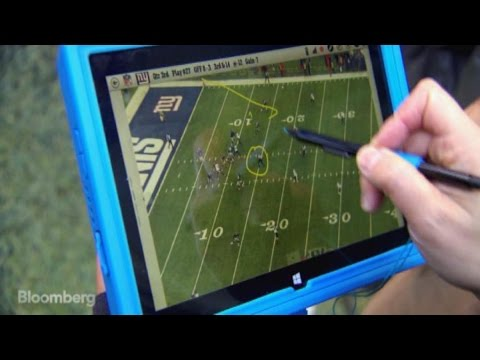 Microsoft Surface Tablets on NFL Sidelines Are A Game Changer