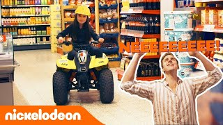 Op een quad de supermarkt in! Mark Hoekx wordt gek 😱 | De Viral Fabriek | Nickelodeon Nederlands