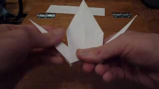 Origami Crane/flapping Bird Tutorial