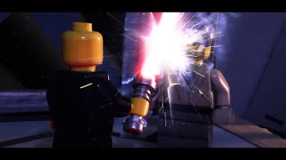 LEGO Star Wars Final Duel (Brickfilm stop-motion animation)