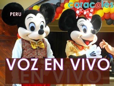 fiesta show infantil de LUJO Barney Mickey Mouse , Elmo ,Toy Story ...