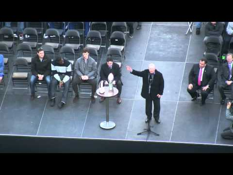NY Giants Super Bowl XLVI Championship Rally: Tom Coughlin's Speech