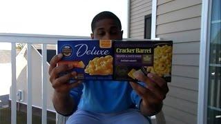 Kraft Macaroni And Cheese Vs Cracker Barrel Macaroni And Cheese