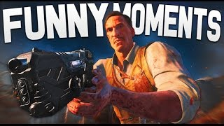 Black Ops 3 Zombies Funny Moments: Riding Dragons, Boss Fight, Gorod Krovi Easter Egg