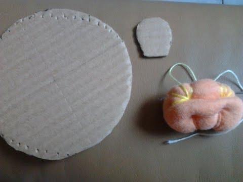 Sugestão decoração - Como fazer bonecas de fuxico