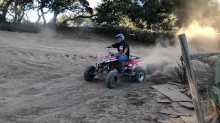 playing with the 450