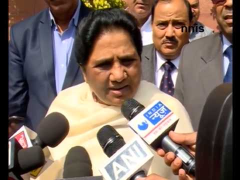 Mayawati Condemns Arrest Of Student In UP