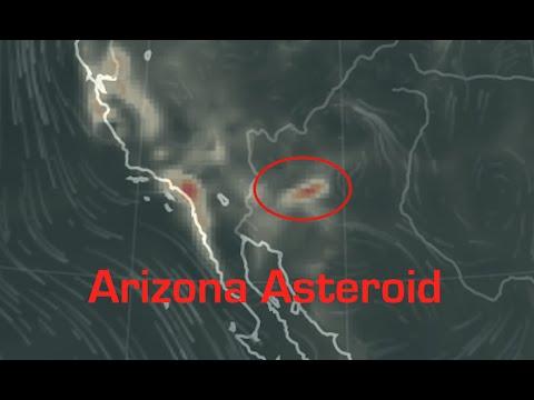 Carbon Monoxide Plume now at location of 'Arizona Asteroid' impact