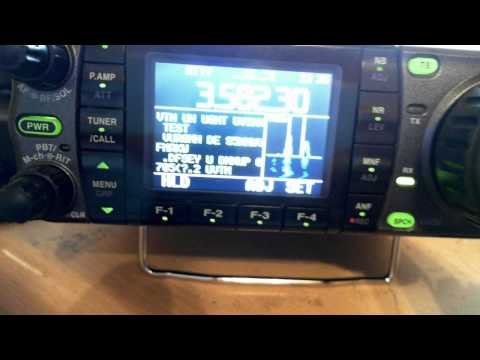 ICOM IC 7000 - RTTY Test  3.585.15 Mhz - 2011-03-05