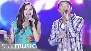 JERICHO & KARYLLE singing Smiling Face at ASAP XV