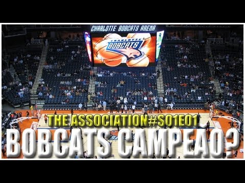 NBA 2K13 | Association S01E01: Bobcats Campeão da NBA? Será?