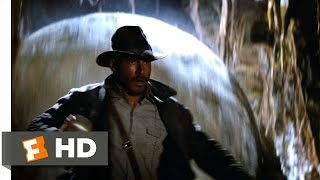 Raiders of the Lost Ark (1/10) Movie CLIP - The Boulder Chase (1981) HD