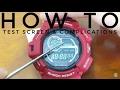 HOW TO MUDMAN | Casio Module 3260 /3280 G-SHOCK tutorial