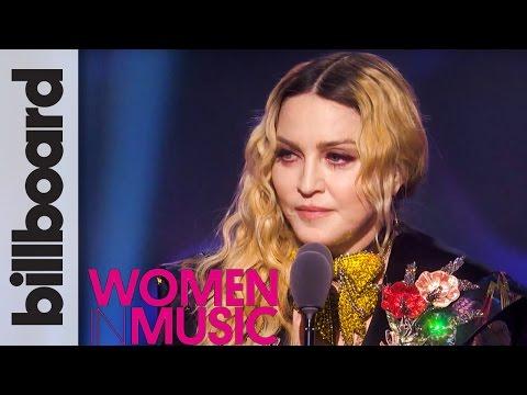 Madonna Woman of The Year Full Speech   Billboard Women in Music 2016