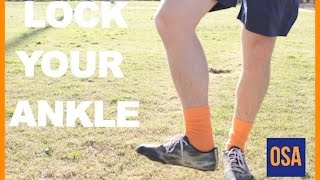 How To Lock Your Ankle