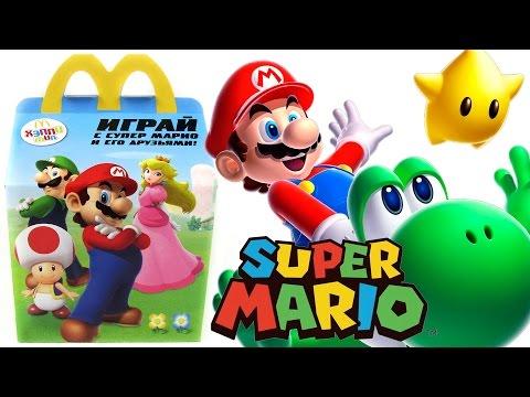 Хэппи Мил Супер Марио 2016   McDonald's Happy Meal Super Mario 2016
