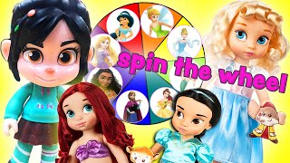 Vanellope's Spin The Wheel Game! With Surprise Gifts for The Princesses! | Princess World