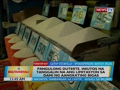 Panayam kay Cathy Estavillo, spokesperson, Bantay Bigas thumbnail