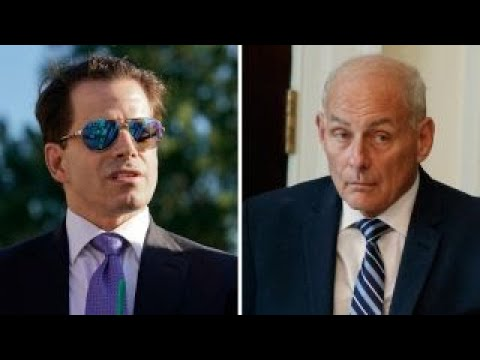 Scaramucci resigns as Kelly steps into his new role