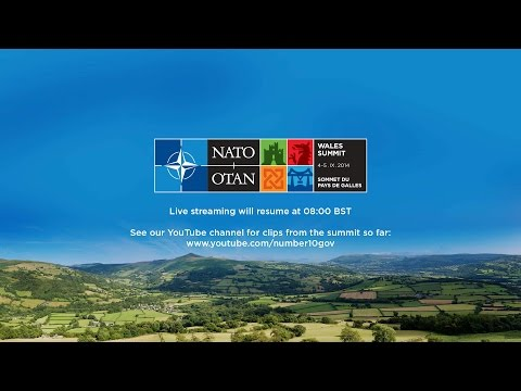 NATO Summit 2014: Live Stream Day 1