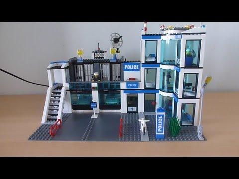 Обзор Лего сити полицейский участок 7498
