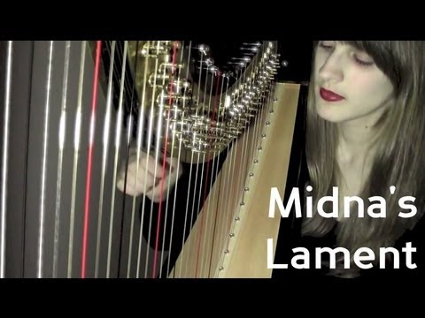 Midna's Lament - Harp Cover - Legend Of Zelda video