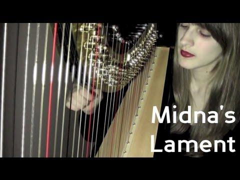 Midna's Lament - Harp Cover - Legend Of Zelda video