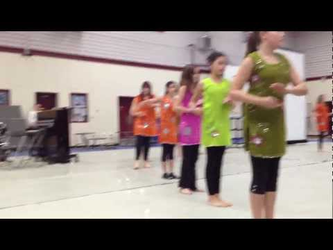 East Indian Dance Performed By Hd Stafford School Girls - Hd video