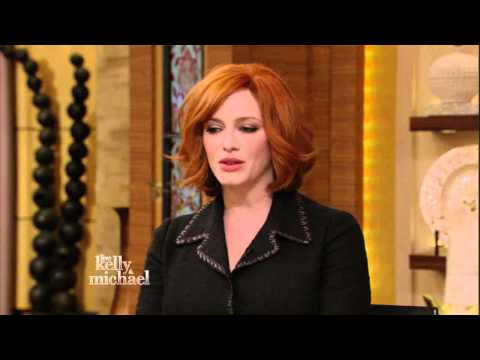 Christina Hendricks - gorgeous - Kelly Ripa show