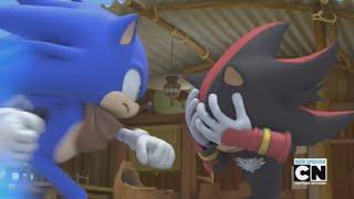 Sonic Boom Shadow vs Sonic last one standing